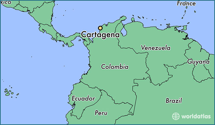 Cartagena Colombia Map Where is Cartagena, Colombia? / Cartagena, Bolivar Map