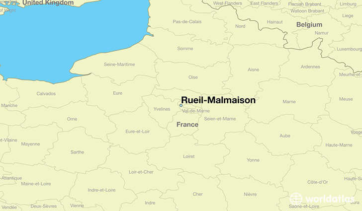Where is rueil malmaison france rueil malmaison ile de france map - Location meublee ile de france ...