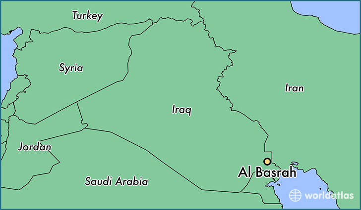 Where is Al Basrah, Iraq? / Al Basrah, Basra Governorate Map