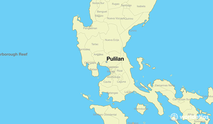 map showing the location of Pulilan