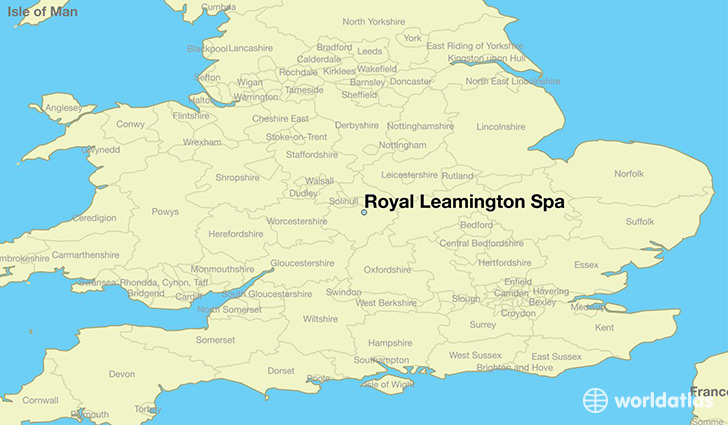 Where is Royal Leamington Spa England Royal Leamington Spa