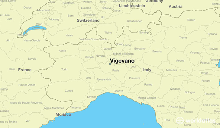 Where is Vigevano, Italy? / Vigevano, Lombardy Map - WorldAtlas.com