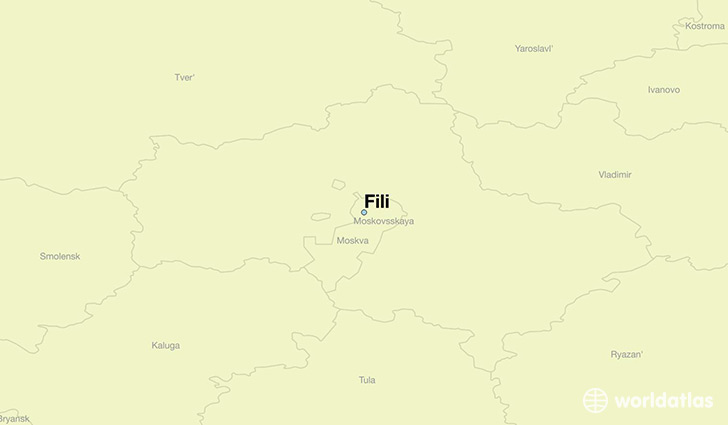 map showing the location of Fili