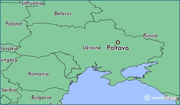 Where is Poltava, Ukraine? / Poltava, Poltava Map - WorldAtlas.com