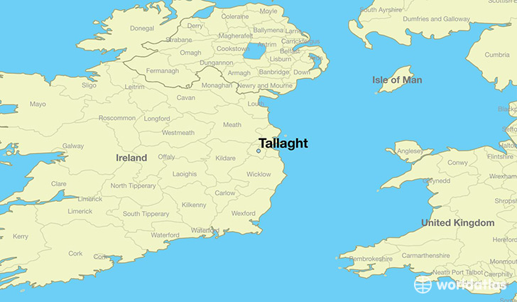 Map Of Ireland Leinster.Where Is Tallaght Ireland Tallaght Leinster Map Worldatlas Com