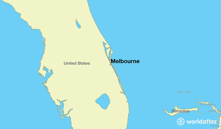 where is melbourne fl where is melbourne fl located in the