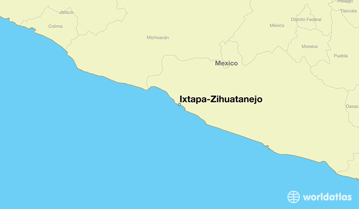 Where Is Ixtapazihuatanejo Mexico: Where Is Ixtapa Mexico On The Map At Infoasik.co