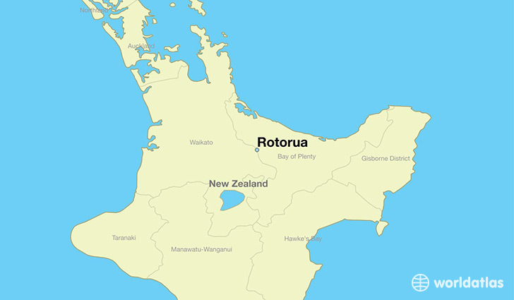 Where Is New Zealand In World Map.Where Is Rotorua New Zealand Rotorua Bay Of Plenty Map
