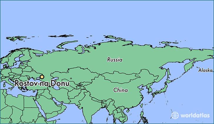 Where is Rostov-na-Donu, Russia? / Rostov-na-Donu, Rostov Oblast Map ...