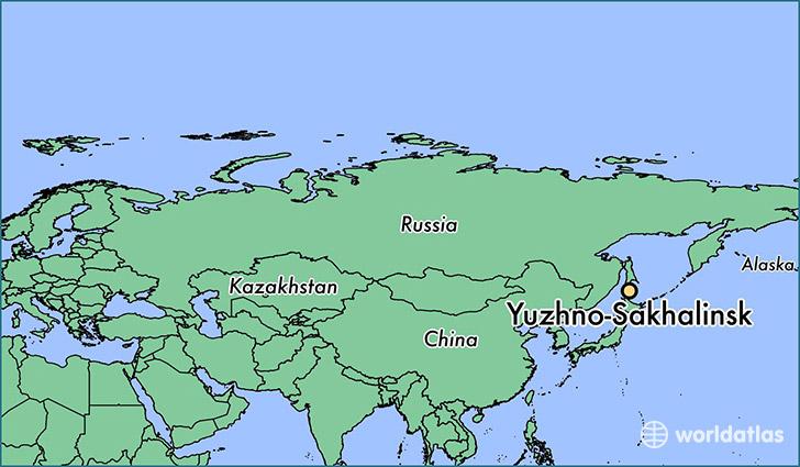 Where is Yuzhno-Sakhalinsk, Russia? / Yuzhno-Sakhalinsk, Sakhalin ...