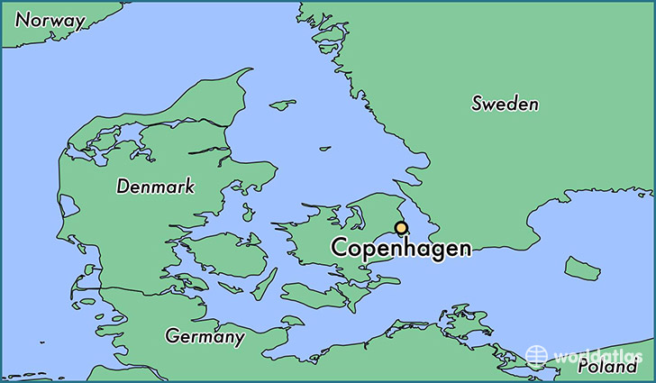Where is copenhagen denmark copenhagen capital region map map showing the location of copenhagen gumiabroncs Gallery