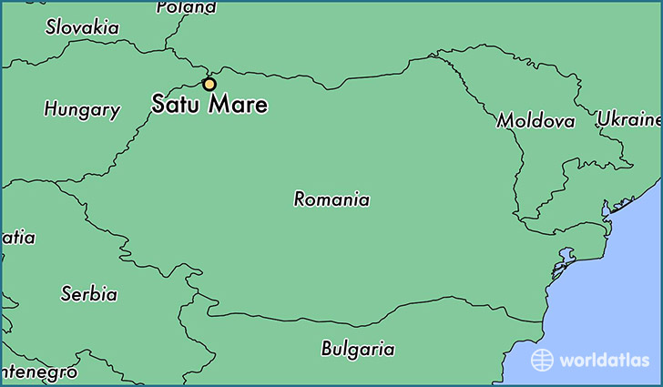 Where is Satu Mare, Romania? / Satu Mare, Satu Mare Map - WorldAtlas.com