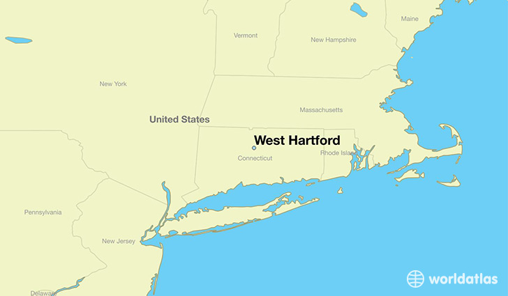 Where is West Hartford CT  Where is West Hartford CT Located