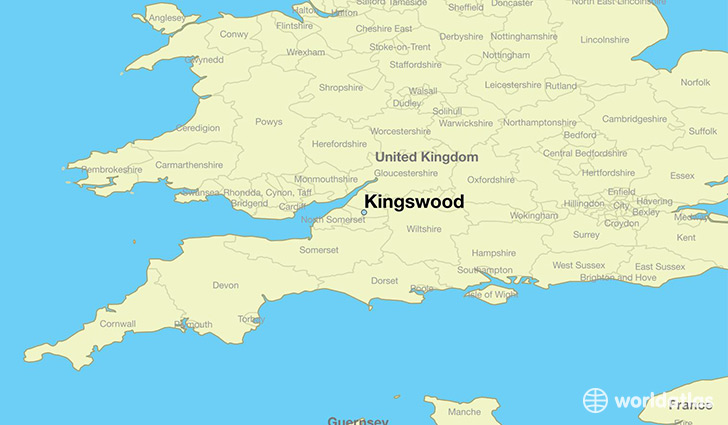 Where is Kingswood England Kingswood England Map WorldAtlascom