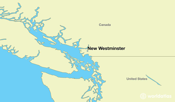 Where is New Westminster BC New Westminster British Columbia