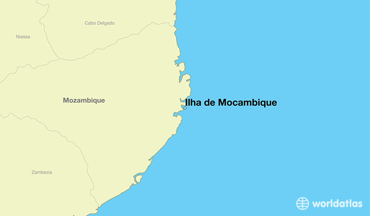 Where is Ilha de Mocambique Mozambique Ilha de Mocambique