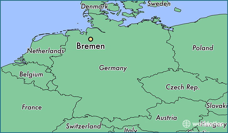 bremen great map bremen germany sightseeing with bremen. Black Bedroom Furniture Sets. Home Design Ideas