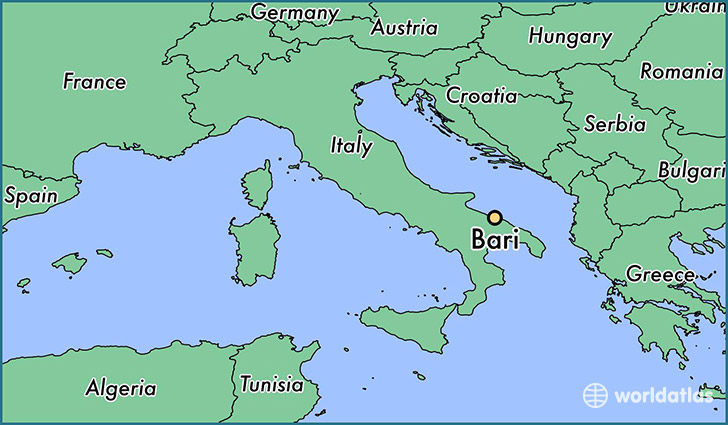 Bari Italy Map World Map 07