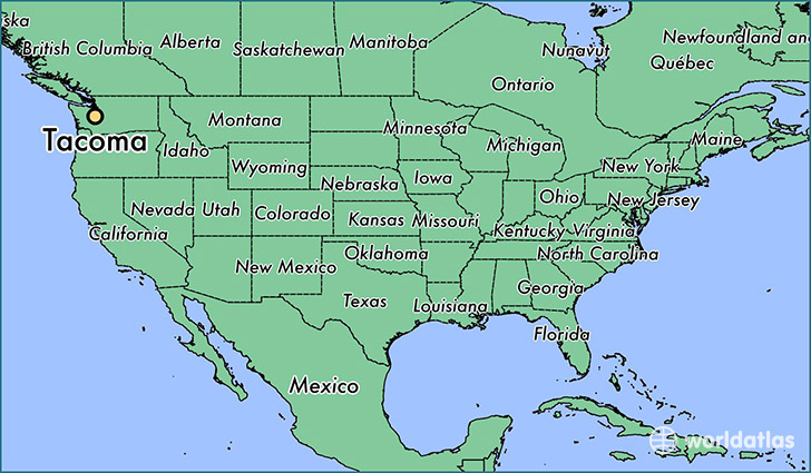 Where Is Tacoma WA Where Is Tacoma WA Located In The World - Us tacoma map