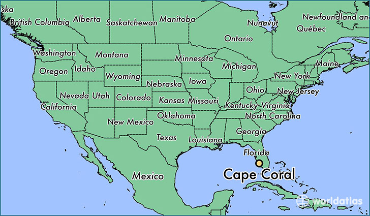 where is cape coral fl where is cape coral fl located in the