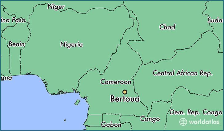 Where is Bertoua, Cameroon? / Bertoua, East Map - WorldAtlas.com