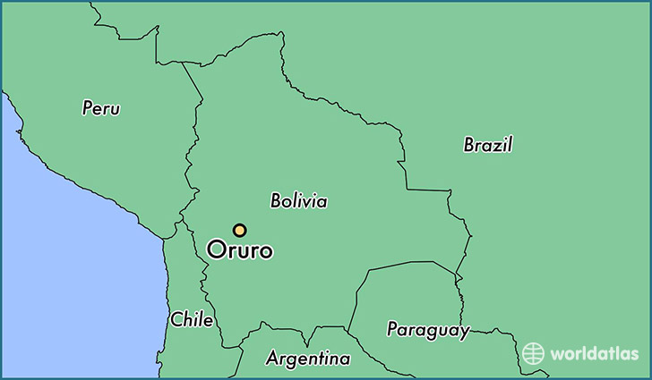 Where is Oruro Bolivia Where is Oruro Bolivia Located in The World Or