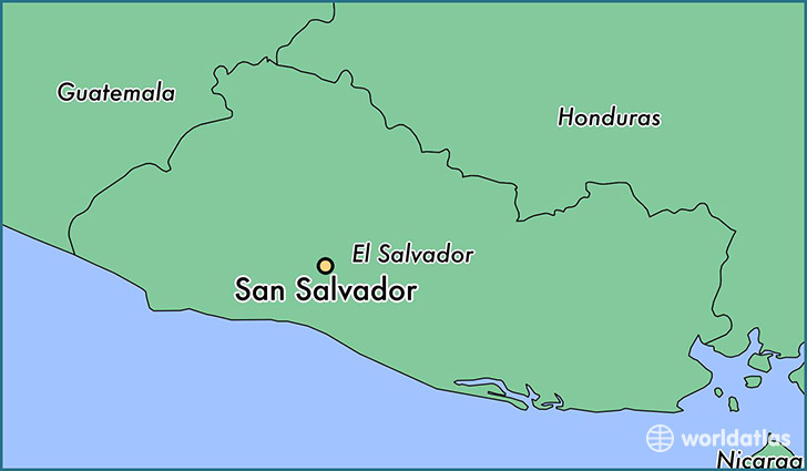 Where is San Salvador, El Salvador? / San Salvador, San Salvador Map ...