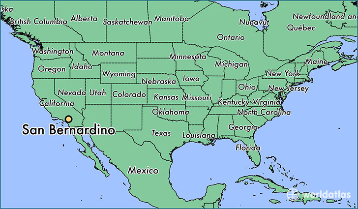 Map Of San Bernardino California Where is San Bernardino, CA? / San Bernardino, California Map
