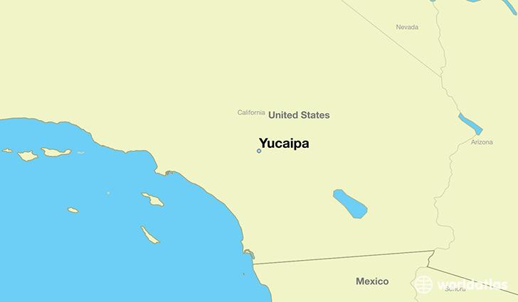 Where is Yucaipa CA Yucaipa California Map WorldAtlascom
