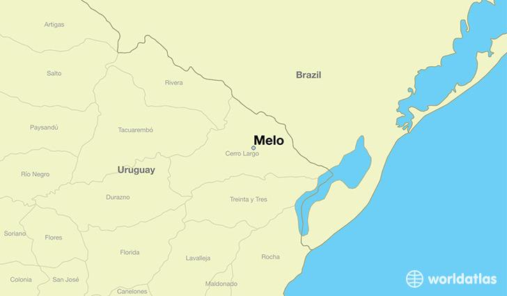 Where Is Melo Uruguay Where Is Melo Uruguay Located In The - Uruguay map atlas