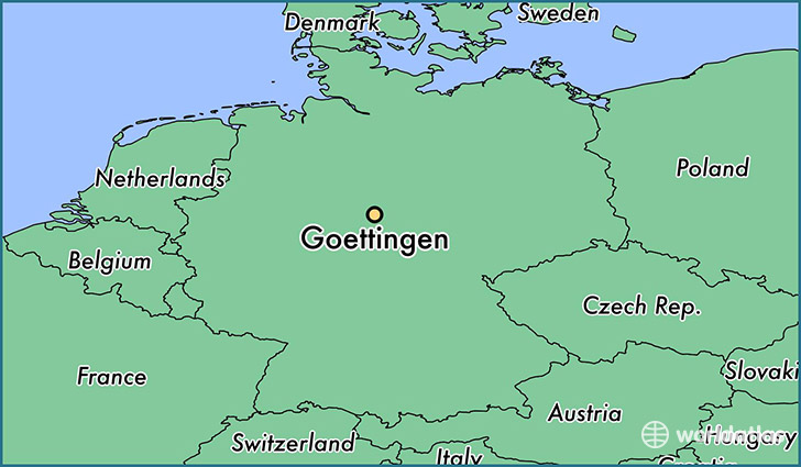 Where Is Goettingen Germany Where Is Goettingen Germany - Germany map gottingen