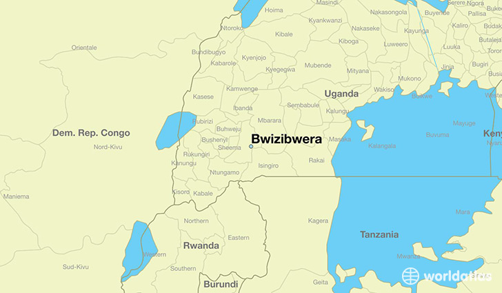 Where is Bwizibwera, Uganda? / Bwizibwera, Western Region ...