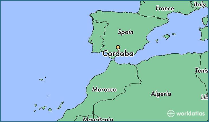 Where is Cordoba, Spain? / Cordoba, Andalusia Map   WorldAtlas.com