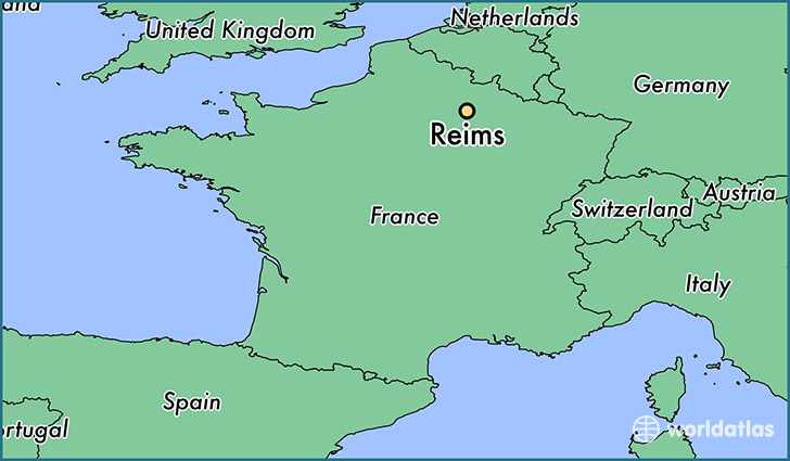 where is reims france reims champagne ardenne map. Black Bedroom Furniture Sets. Home Design Ideas