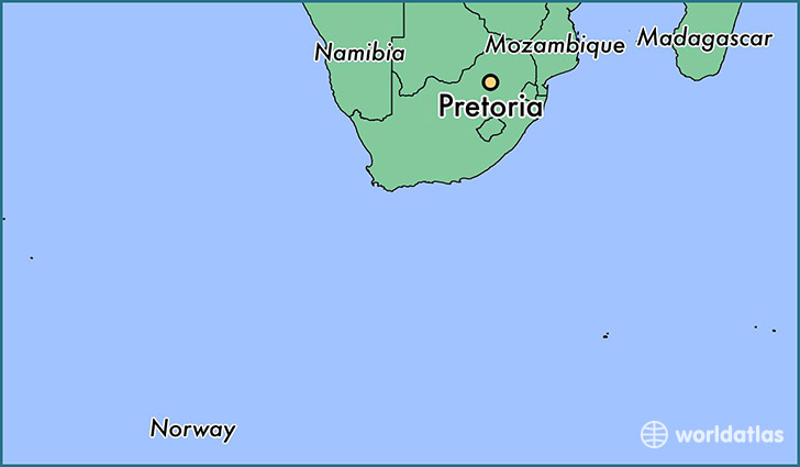 Where is Pretoria, South Africa? / Pretoria, Gauteng Map