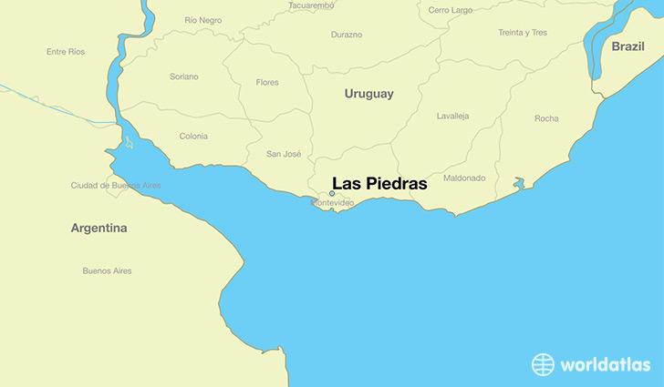 Where Is Las Piedras Uruguay Where Is Las Piedras Uruguay - Uruguay map atlas