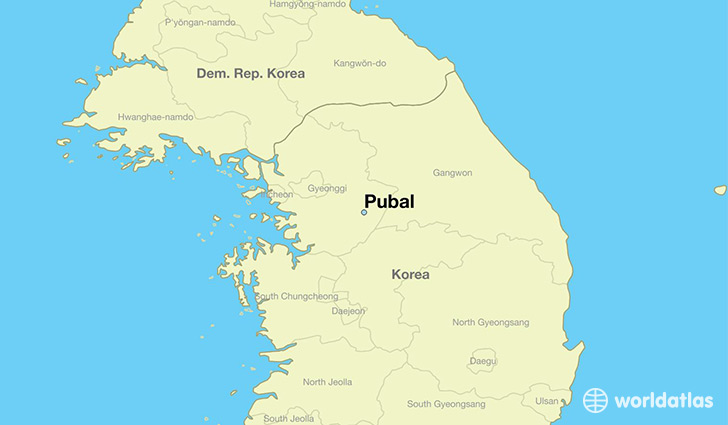 map showing the location of Pubal