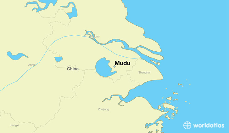 map showing the location of Mudu