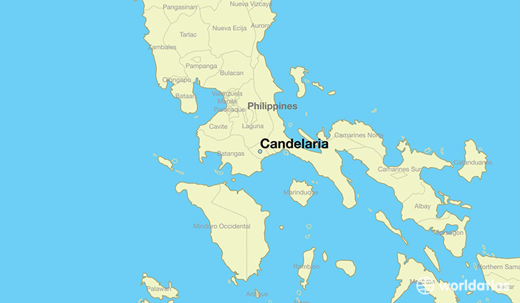 Where Is Candelaria The Philippines Candelaria Calabarzon Map - Candelaria map