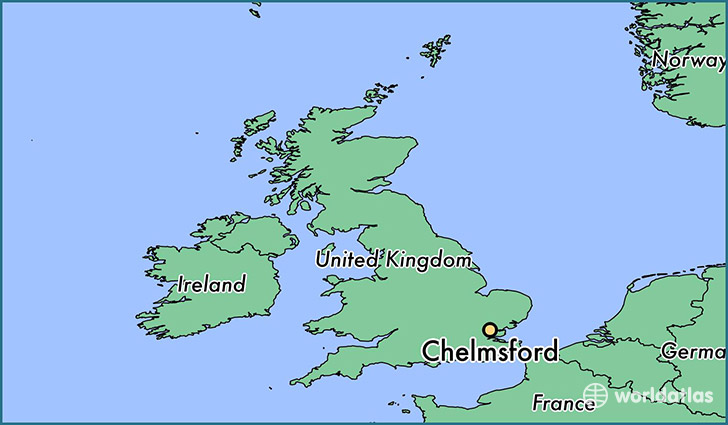 Where is Chelmsford, England? / Chelmsford, England Map