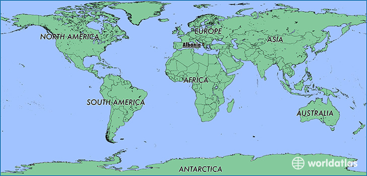Where is Albania? / Where is Albania Located in The World