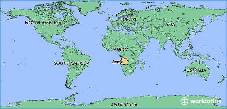 Where is Angola Where is Angola Located in The World Angola