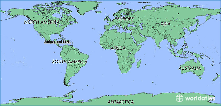 Antigua And Barbuda World Map.Where Is Antigua And Barbuda Where Is Antigua And Barbuda Located
