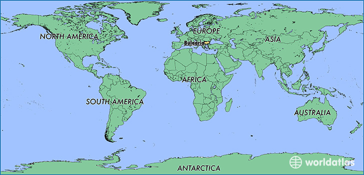 Bulgaria On Map Of World.Where Is Bulgaria Where Is Bulgaria Located In The World