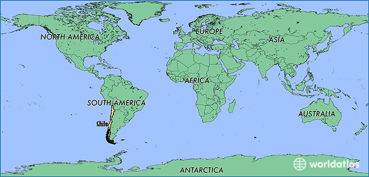 Where is Chile Where is Chile Located in The World Chile Map