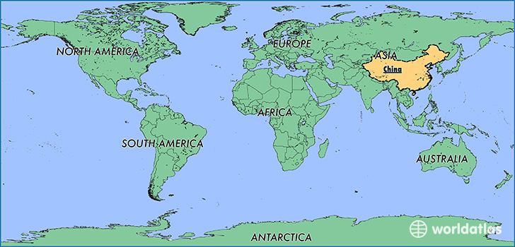Where Is China Where Is China Located In The World China Map