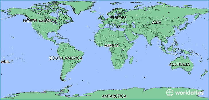 Where Is The Cook Islands Where Is The Cook Islands Located In - Cook islands map