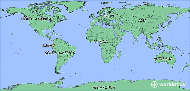Ecuador On The Map Where is Ecuador? / Where is Ecuador Located in The World