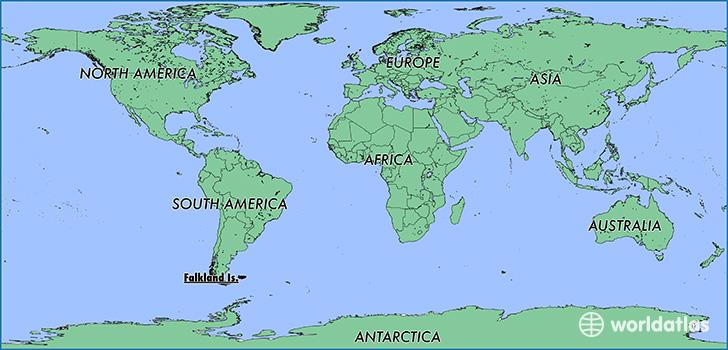 Where Is The Falkland Islands Malvinas Where Is The Falkland - Falkland islands map