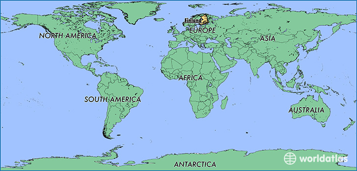 where is finland where is finland located in the world